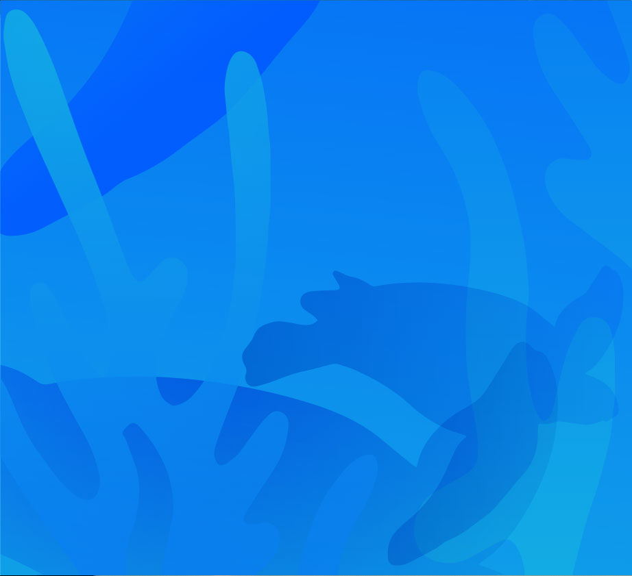 Blue Abstract Ocean Heroes background