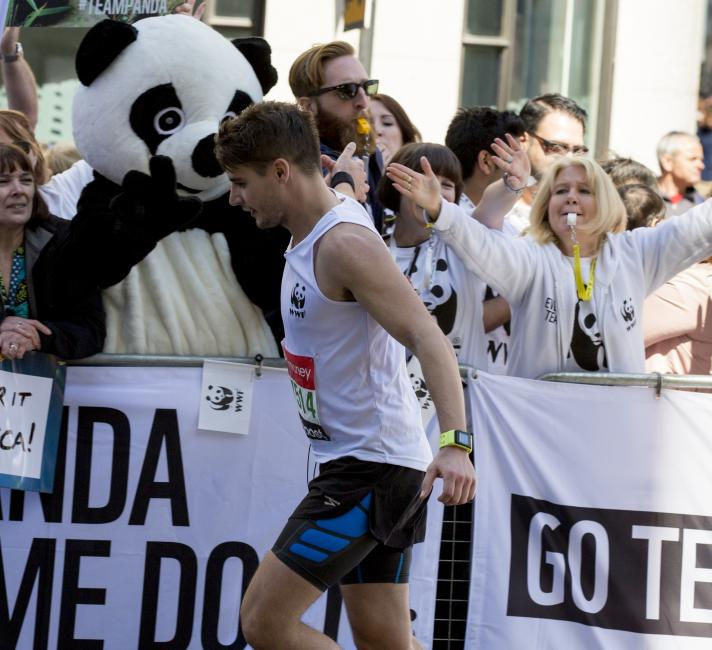 Team Panda at the London Marathon