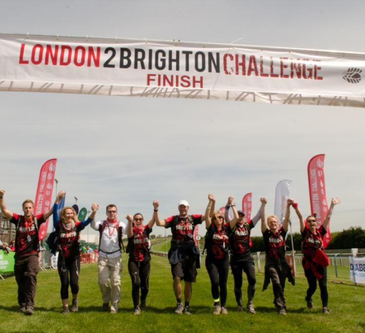 London to Brighton finisher