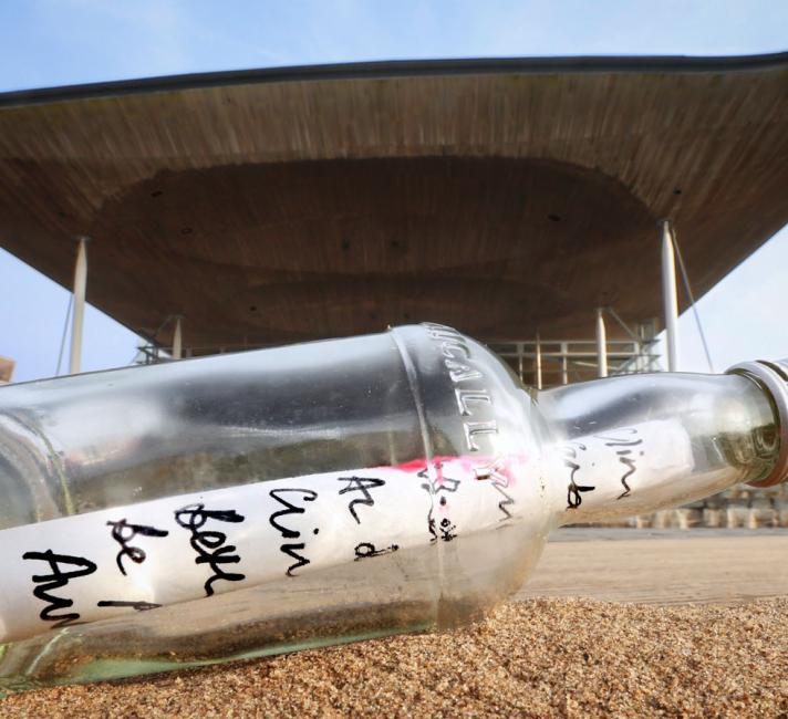 Message in a Bottle - Senedd