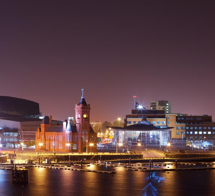 Cardiff Bay Night
