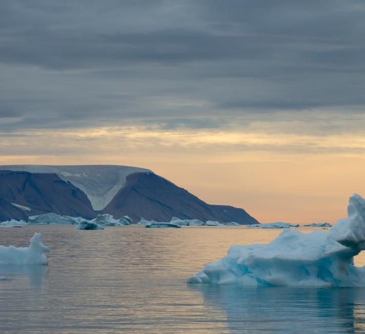 Sea ice, Greenland