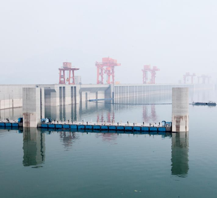 The Yangtze River's Three Gorges Dam