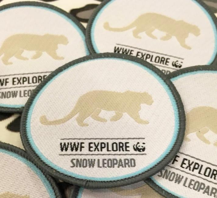 Snow Leopard Badges