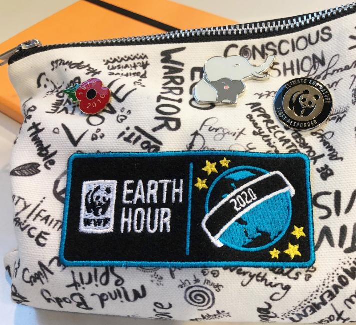 Earth Hour Badges 2020