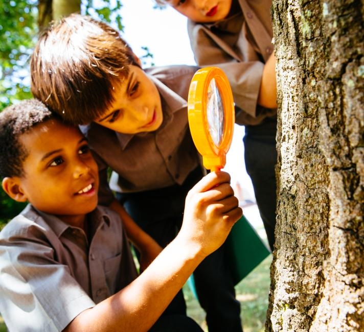 Our Planet citizen science pilot using the iNaturalist platform with students of St Andrews School, Horsell. Surrey, UK.