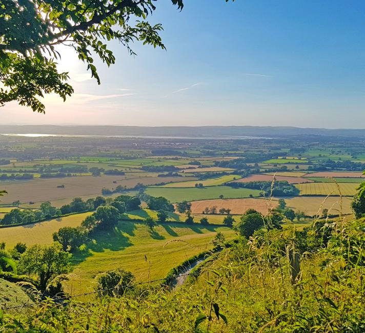 Stunning view of the Cotswold