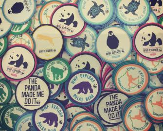 3) Order a WWF Badge