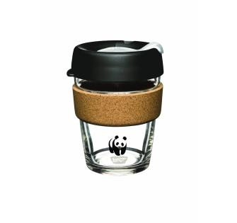 Black & White Cork KeepCup