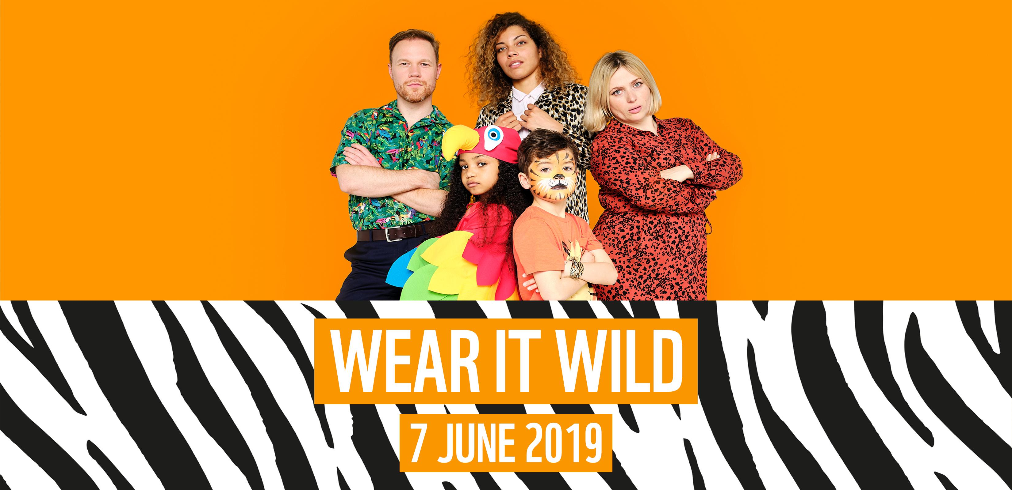 Wear it wild on Friday 7 June