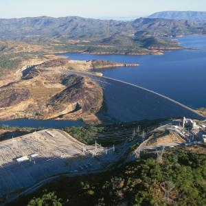 The Serra da Mesa dam near Minacu